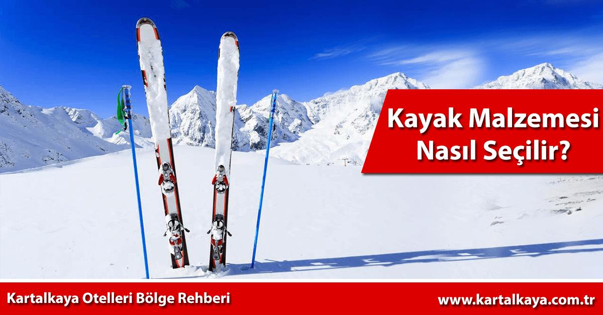 kayak takımı seçimi